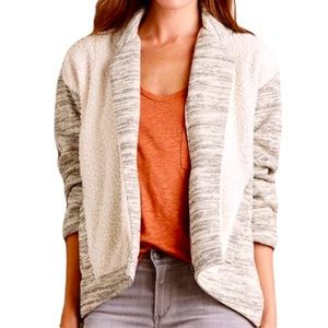 Saturday Sunday Moelleux Open Front Sherpa Jacket
